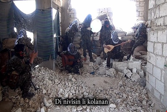 New Song For The Martyrs Of Afrin